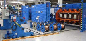 مراحل تولید سیم و کابل در کارخانه صنایع کابل کمان
