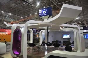 غرفه شرکت کمان در نمایشگاه